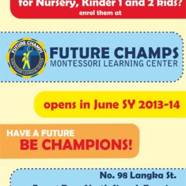 Future Champs flyer
