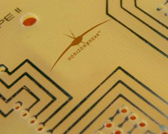 electronics logo design for horizon break