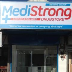 MediStrong Pharmacy Logo Design