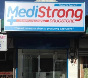 MediStrong Drugstore Rosario Cavite
