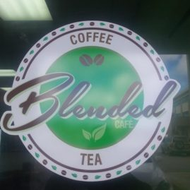 Blended Cafe logo
