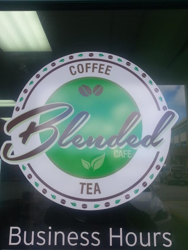 Cafe logo design for Blended Cafe