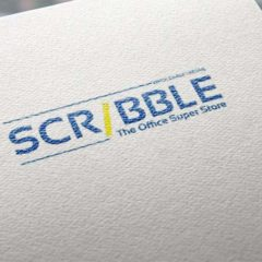 Store Logo Design for Scribble