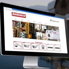 Ambiance Solutions Corp. Website