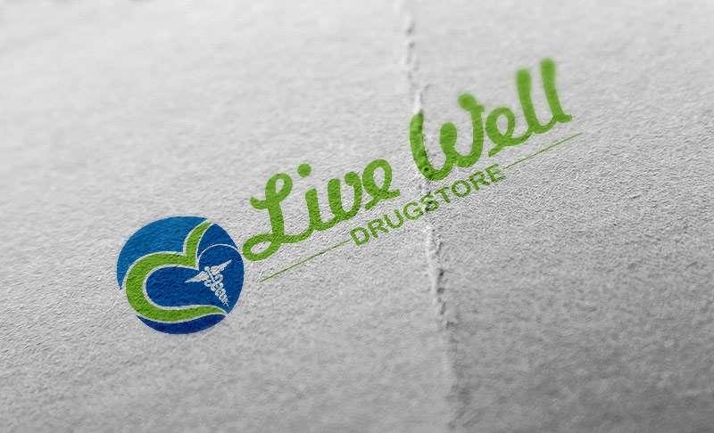 drugstore logo for live well