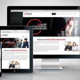 Responsive Website Development for Redland Consulting Australia