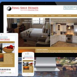 Website Redesign for Fengshui Homes