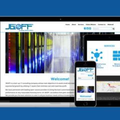 I.T. Start-Up Website for Jeoff-ITC