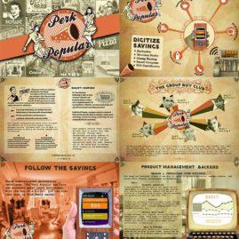 Business Brochure for Perk Popular