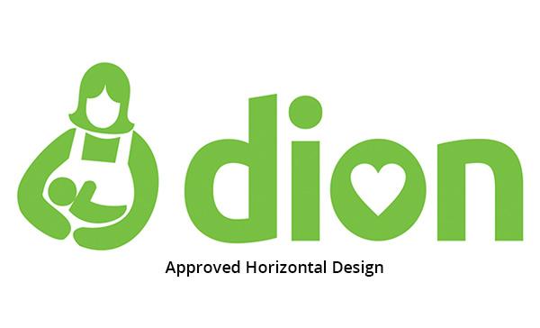 Dion caregiver logo design