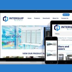 Ecommerce Site for Interquip Global Australia
