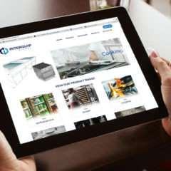 Ecommerce Site for Interquip Global Australia