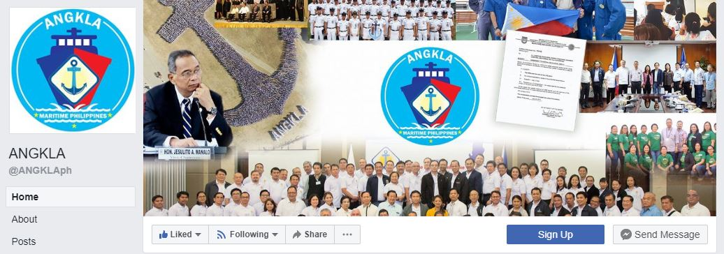 Angkla logo as seen in their FB page