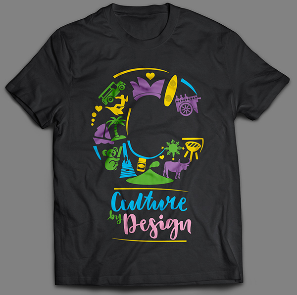 Culture By Design Mockup Shirt