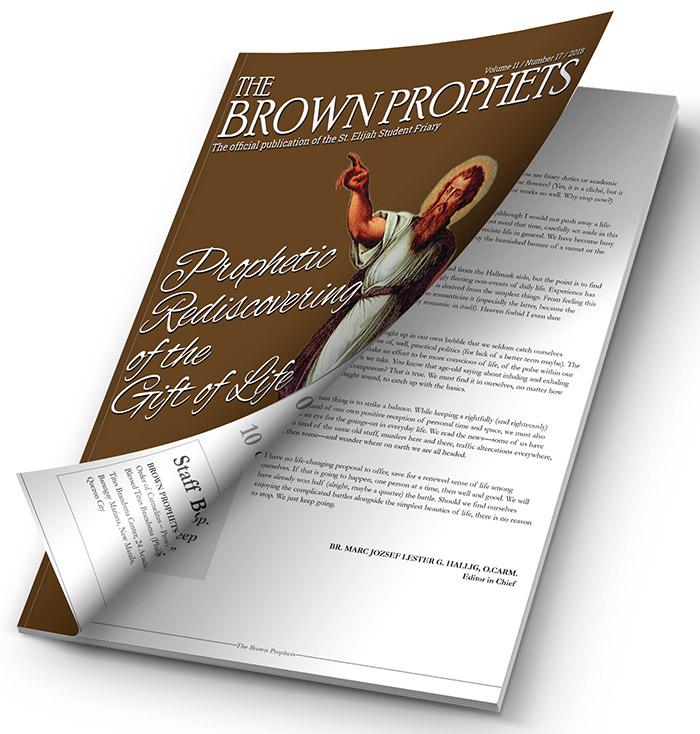 Brown Prophets Newsletter